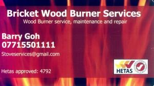 Bricket Wood Burner Services